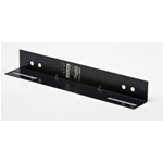 GUIDA LATERALE AD L PER RACK 19 PROF. 450MM NERA (CONF.2PZ)